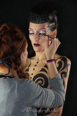 curso de maquillaje corporal