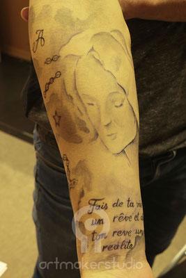 Tattoo Temporal Madrid Gillet promoción