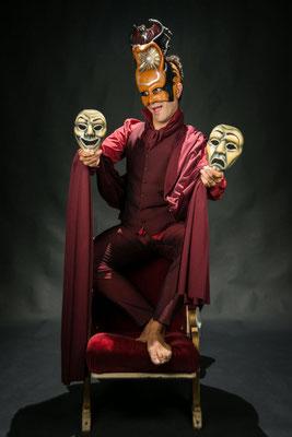 Mascaras Crimen y Telón, Ron Lalá Teatro