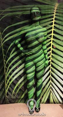 Body Art y Camuflaje Making of Museo Reina Sofia