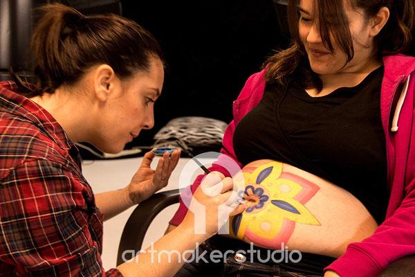 CURSO PINTABARRIGUITAS en Madrid de Diana, Modelo Laura
