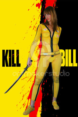 KILL BILL Body Painting para particular por ArtMakerStudio