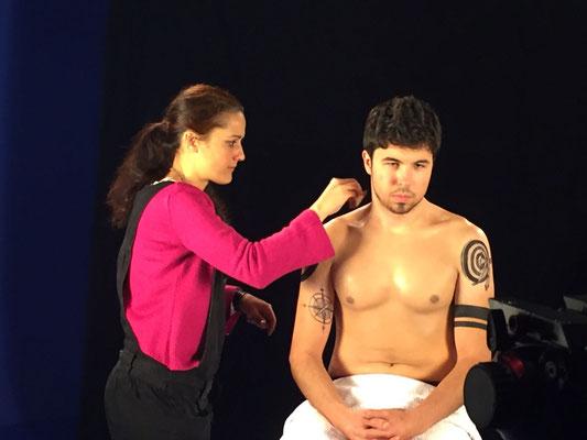 "Tatuaje Temporal Willyrex promocióin Pélicula Vaiana Disney ""artmakerstudio"""