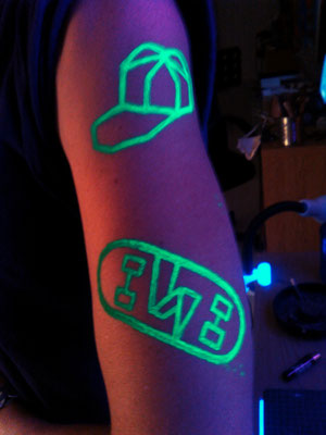 Pintura Fluor, UV Make UP MTN DEW BBF 2016