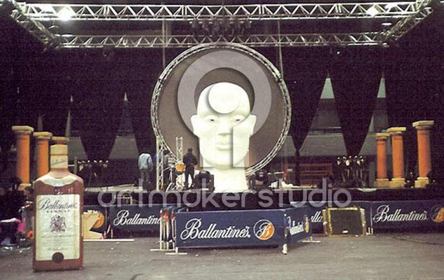 Escenografía para gira Ballantines