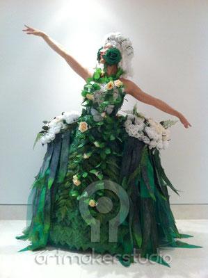 "VESTUARIO FLORAL MIRIÑAQUE DE EPOCA  Patek Philippe  ""artmakerstudio"""