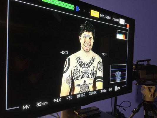 """Willyrex Tattoo Temporal Madrid Disney Promoción película  Vaiana """"artmakerstudio"""""""