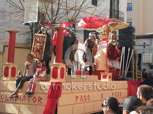 Carroza Carnaval GLADIATOR IBIZA 2013