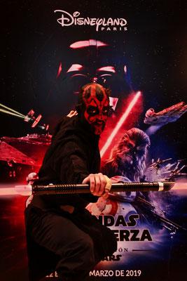 """Maquillaje """"Guerra de las Galaxias"""" para evento Disney en IFEMA"""