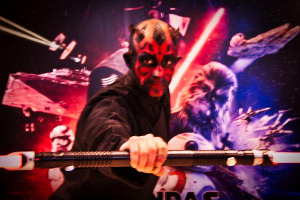 Star Wars - Darth Maul make up