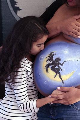Premamá Body Paint Fairy Madrid