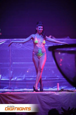 Body Painting NEONSPLASH Ibiza 2015 Discoteca Privilege Ibiza