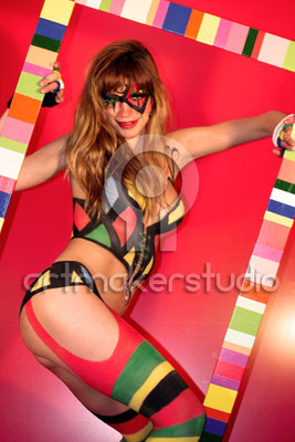 "Body Paint ""Lady Circus"". Valencia 2008"