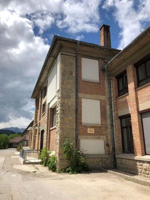 Seiteneingang Wohngebäude