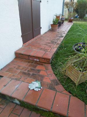 comment isoler une terrasse carrelée