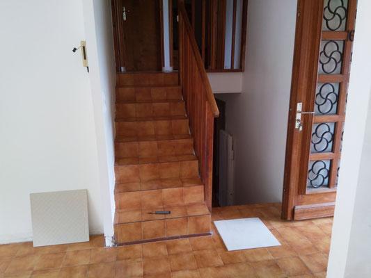 escalier à rénover à Toulouse