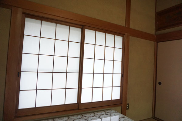 筑紫野市で障子の張替え4(施工後)