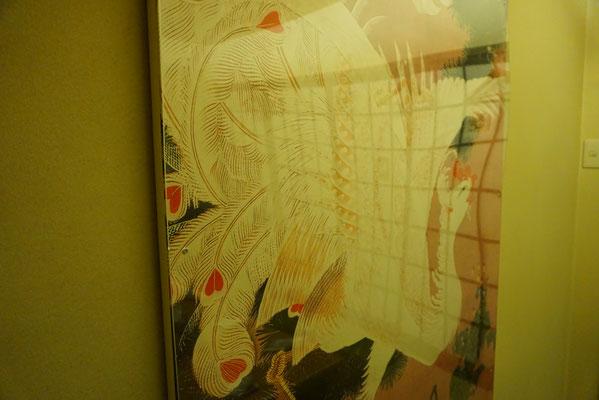 居酒屋 日本酒バル 天ノ美禄 さま(伊藤若冲 襖絵施工)福岡県朝倉市飲食店