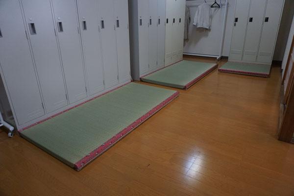 朝倉市 更衣室 施工後の置き畳