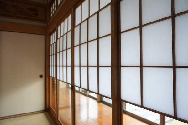 筑紫野市で障子の張替え2(施工後)