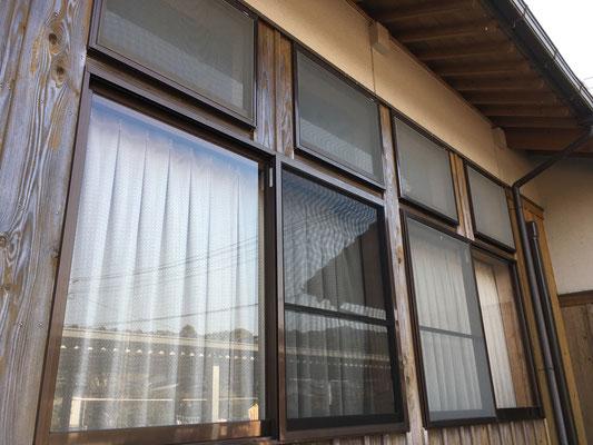 福岡県朝倉市で網戸の張替え(施工後)