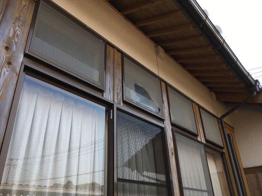 福岡県朝倉市で網戸の張替え(施工前)