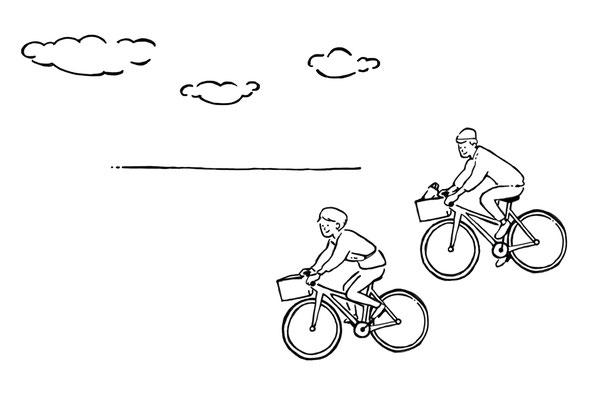 サイクリング/photoshop