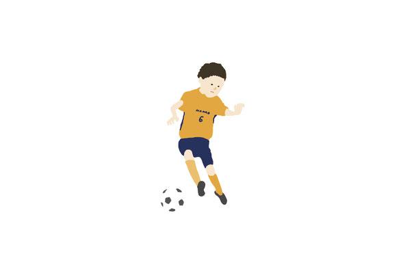 サッカー/photoshop