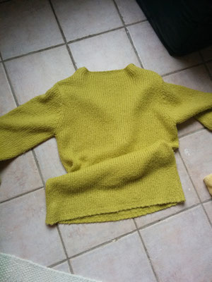 this pullover needs to be updated, sold,  designed and made by Beate Gernhardt