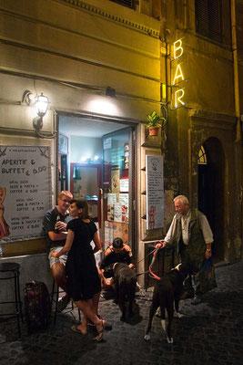 Monti neighbourhood, saturday evening.