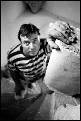 The ceramist, Bolsena town, Italy, 2006