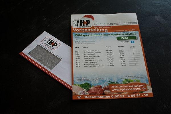 Informationsblatt zum Thema Backzeiten, im DinA4-Format I H&P