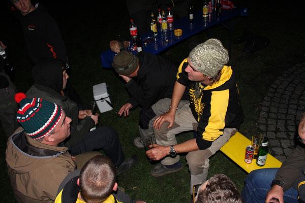 Natürlich gab es am Abend ein Lagerfeuer ;-)