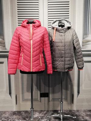 Links: Steppjacke 79,99€ Rechts: Stepp-Blouson mit herausnehmbarem Jerseyeinsatz 89,99€