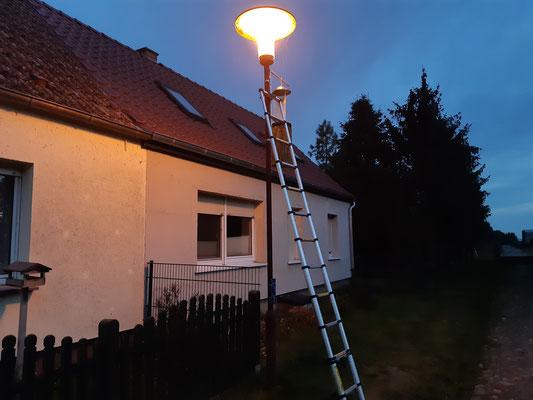 Wenn die 6 Insektenfallen in der Straße am Neubau in Gülpe angebracht sind, kann es los gehen...