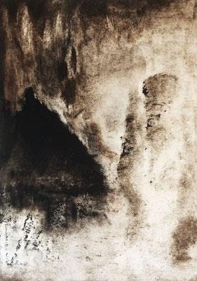 "FIORILE, ""Myst"",Monotype, 100x70 cm, 2019"