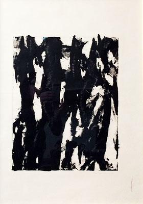 "FIORILE, ""Myst"",Monotype, 0x70 cm, 2019"