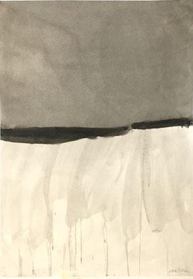 """Christine VALCKE, """"Sans titre 2"""", Encre sur papier, 100x70 cm, 2006"""