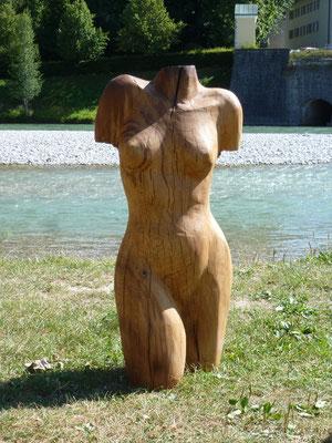 Torso von der Eiche, h. 120 cm, verkauft