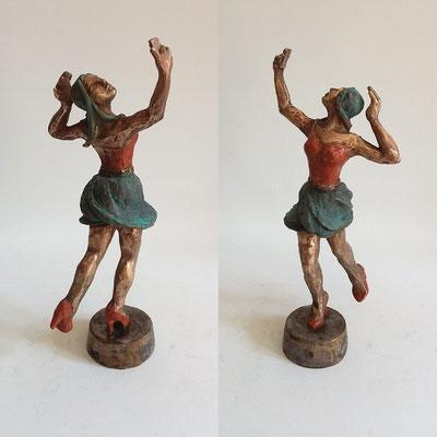 """""""Dancing Queen""""  Bronze patiniert, h. 29 cm"""