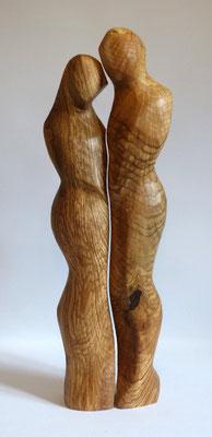 Liebespaar aus Oliv-Esche, verkauft