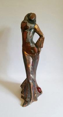 """""""Balltänzerin"""", Achat auf Bronze"""