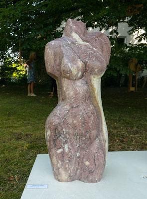 Torso vom roten Panon (griechischer Marmor), verkauft