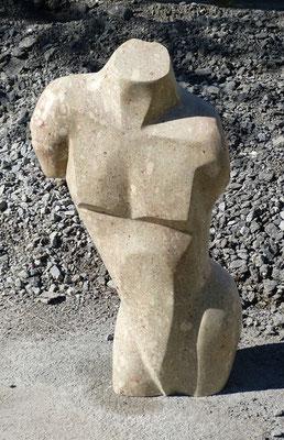 Torso vom Untersberger Marmor, verkauft