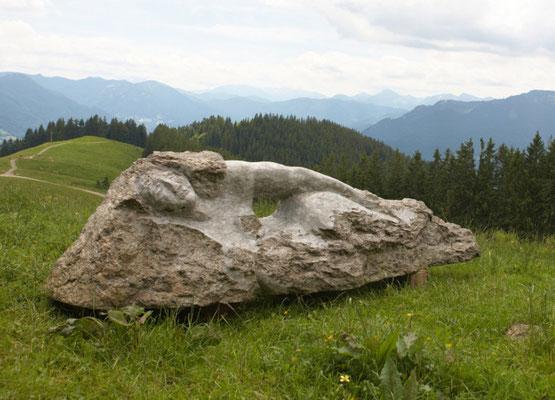 """""""Steinjungfrau""""  Gneis, b. 260 cm, verkauft"""