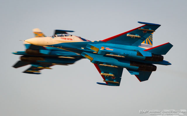 "Mighty ""Flanker's"" of the Russian Knights"