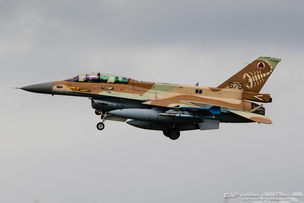 "676 F-16D 105sq Israel Airforce ""Skorpion"""