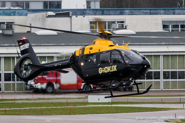 Airbus Helicopters H135 G-CKJK //D-HECQ // for the Royal Air Force