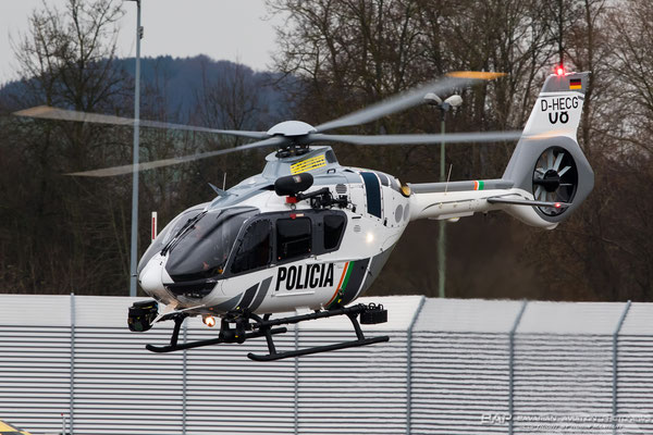 Brand new Airbus Helicopters H 135 for the Brazilian Police PP-ARY // D-HECG // EDPR