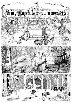 Prinz Wagehals und die Nahrungskette (Kasperl Larifari nach Franz von Pocci)